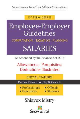 EMPLOYEE - EMPLOYER GUIDELINES SALARIES COMPUTATION - TAXATION - PLANNING