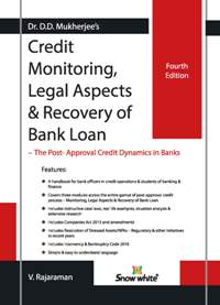 Buy CREDIT MONITORING, LEGAL ASPECTS & RECOVERY OF BANK LOAN
