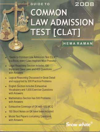 GUIDE TO COMMON LAW ADMISSION TEST [CLAT]