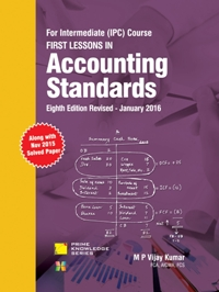 FIRST LESSONS IN Accounting Standards IPCC