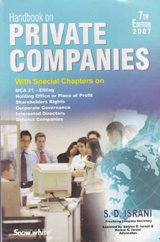 Handbook On PRIVATE COMPANIES