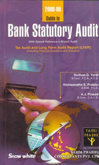 Guide to Bank Statutory Audit