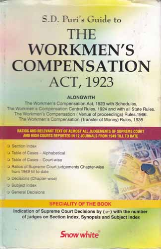 THE WORKMENS COMPENSATION ACT, 1923