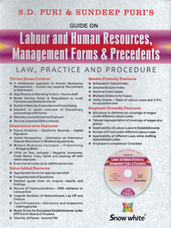 Buy GUIDE ON LABOUR AND HUMAN RESOURCES, MANAGEMENT FORMS & PRECEDENTS ( Law, Practice & Procedure)