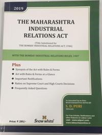 THE MAHARASHTRA INDUSTRIAL RELATIONS ACT
