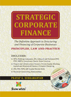 STRATEGIC CORPORATE FINANCE (PRINCIPLES, LAW AND PRACTICE)