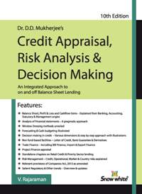 Buy CREDIT APPRAISAL, RISK ANALYSIS & DECISION MAKING