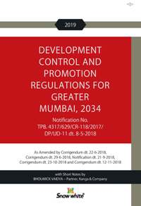 DEVELOPMENT CONTROL AND PROMOTION REGULATIONS FOR GREATER MUMBAI, 2034