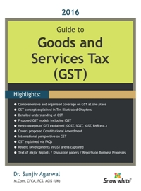 GUIDE TO GOODS AND SERVICES TAX (GST)