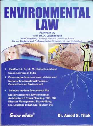 Buy ENVIRONMENTAL LAW