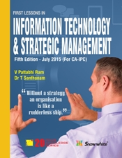 FIRST LESSON IN INFORMATION TECHNOLOGY & STRATEGIC MANAGEMENT