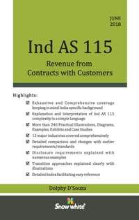 Buy IND A S 115 REVENUE FROM CONTRACTS WITH CUSTOMERS