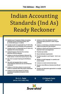 Buy INDIAN ACCOUNTING STANDARDS ( IND-AS) READY RECKONER