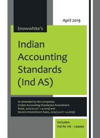Buy SNOWWHITE'S INDIAN ACCOUNTING STANDARDS ( Ind AS )