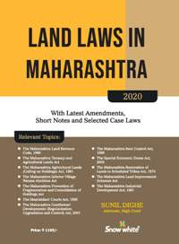 Buy LAND LAWS IN MAHARASHTRA