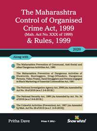 Buy THE MAHARASHTRA CONTROL OF ORGANISED CRIME ACT, 1999 & RULES, 1999