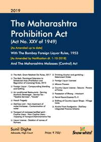 THE MAHARASHTRA PROHIBITION ACT