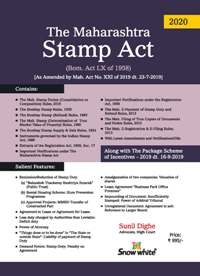 THE MAHARASHTRA STAMP ACT