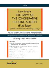 NEW MODEL BYE- LAWS OF THE CO- OPERATIVE HOUSING SOCIETY [ FLAT TYPE]