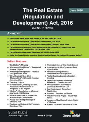 The Real Estate ( Regulation and Development) Act,2016