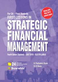 Buy FIRST LESSONS IN Strategic Financial Management ( Old Syllabus)