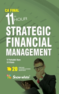 Strategic Financial Management for CA Final - 11th Hour
