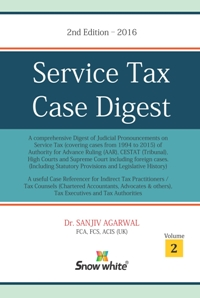 SERVICE TAX CASE DIGEST