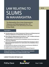 LAW RELATING TO SLUMS IN MAHARASHTRA