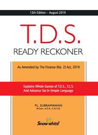 Buy T. D. S. READY RECKONER