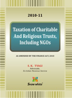 Taxation of Charitable and Religious Trusts Including NGOs