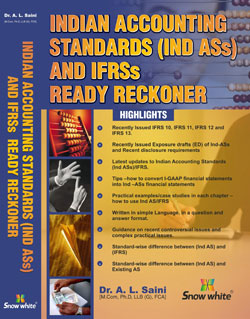 INDIAN ACCOUNTING STANDARDS (IND-ASs) AND IFRSs READY RECKONER