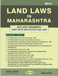 LAND LAWS IN MAHARASHTRA