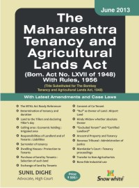 THE MAHARASHTRA TENANCY AND AGRICULTURAL LANDS ACT
