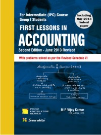 FIRST LESSONS IN ACCOUNTING