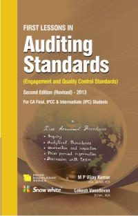 FIRST LESSONS IN Auditing Standards