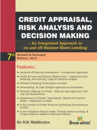 CREDIT APPRAISAL, RISK ANALYSIS & DECISION MAKING