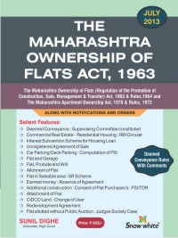 THE MAHARASHTRA OWNERSHIP OF FLATS ACT, 1963