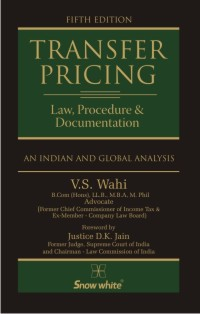 TRANSFER PRICING (LAW, PROCEDURE & DOCUMENTATION)
